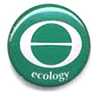 ecology symbol button