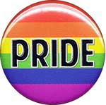 Gay Pride button