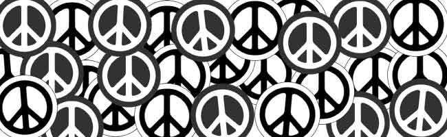 peace symbol stickers